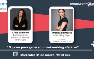 5 pasos para hacer un Networking efectivo