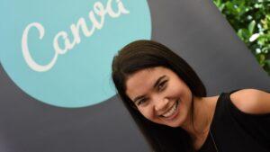 Empresas unicornio: Melanie Perkins, cofundadora y directora ejecutiva de Canva