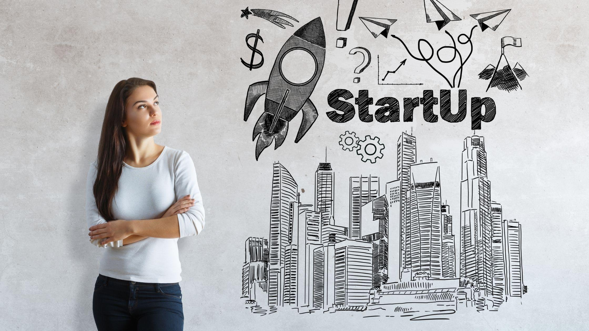 mujer emprendimiento digital startup